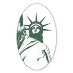 New York Souvenir Sticker (Oval)