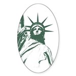 New York Souvenir Sticker (Oval)