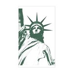 New York Souvenir Sticker (Rectangle)