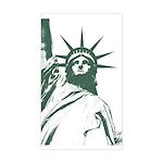 New York Souvenir Sticker (Rectangle)