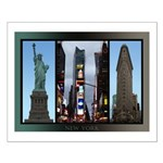 New York Souvenir Small Poster