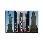 New York Souvenir Rectangle Magnet (100 pack)