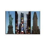 New York Souvenir Rectangle Magnet (10 pack)