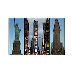 New York Souvenir Rectangle Magnet (10 pack)
