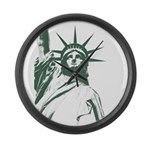 New York Souvenir Large Wall Clock