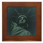 New York Souvenir Framed Tile