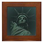 New York Souvenir Framed Tile