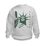 New York Souvenir Kids Sweatshirt