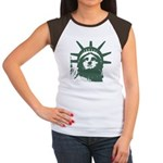 New York Souvenir Women's Cap Sleeve T-Shirt