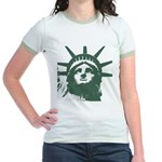 New York Souvenir Jr. Ringer T-Shirt
