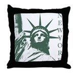 New York Souvenir Throw Pillow