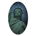New York Souvenir Sticker (Oval 10 pk)