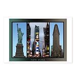 New York Souvenir Postcards (Package of 8)