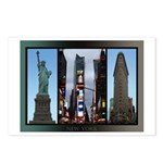 New York Souvenir Postcards (Package of 8)