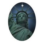 New York Souvenir Ornament (Oval)