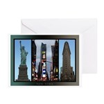 New York Souvenir Greeting Cards (Pk of 10)