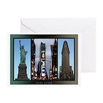 New York Souvenir Greeting Cards (Pk of 10)