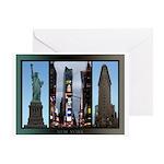 New York Souvenir Greeting Card
