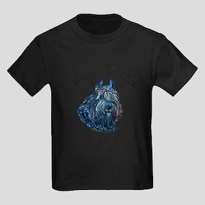 Bouvier des Flandres Black Kids Dark T-Shirt