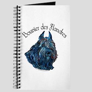 Bouvier des Flandres Black Journal