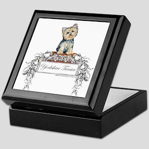 Yorkshire Terrier Small Dog Keepsake Box