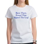 Been There. Found That. Women's T-Shirt