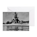 USS HARTLEY Greeting Cards (Pk of 10)
