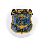 "USS HARTLEY 3.5"" Button (100 pack)"