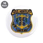 "USS HARTLEY 3.5"" Button (10 pack)"
