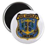 "USS HARTLEY 2.25"" Magnet (100 pack)"