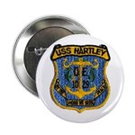 "USS HARTLEY 2.25"" Button (10 pack)"