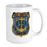 USS HARTLEY Large Mug