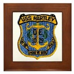 USS HARTLEY Framed Tile