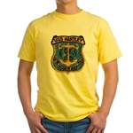 USS HARTLEY Yellow T-Shirt
