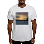 Winter Sunset 0239 Ash Grey T-Shirt