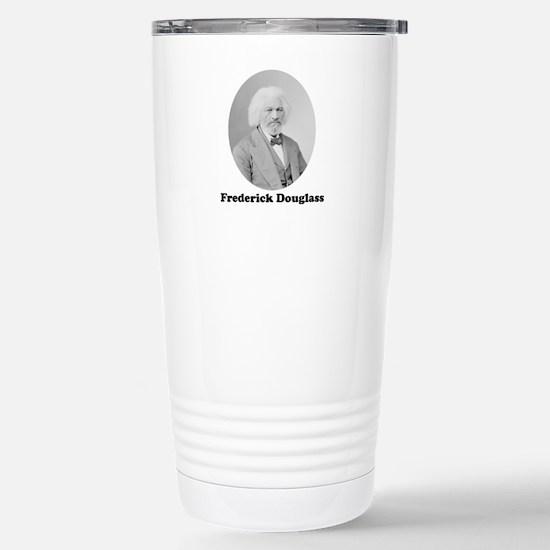 Frederick Douglass Stainless Steel Travel Mug