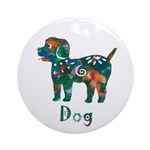 Year of the Dog Ornament (Round)