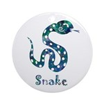 Year of the Snake Ornament (Round)