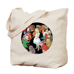 ALICE AND FRIENDS Tote Bag