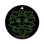GreenMan Nite Ornament (Round)