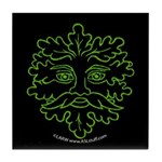 GreenMan Nite Tile Coaster