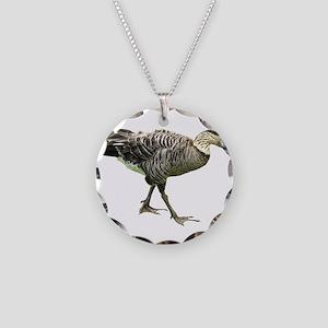 Helaine's Nene Necklace Circle Charm