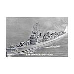 USS HOOPER Mini Poster Print