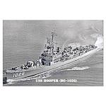 USS HOOPER Large Poster