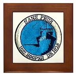 USS HOOPER Framed Tile