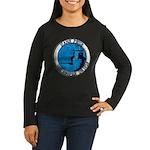 USS HOOPER Women's Long Sleeve Dark T-Shirt