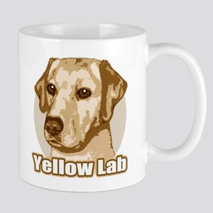 Yellow Lab - Monochrome Mug
