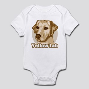 Yellow Lab - Monochrome Infant Bodysuit