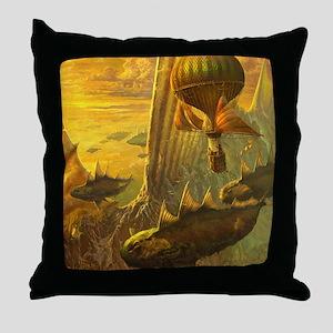 Zaratans of Finisterra Throw Pillow