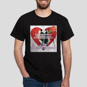 GirdleBound Valentine Black T-Shirt